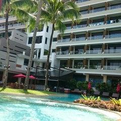 Photo taken at Patong Beach Hotel by Perak H. on 7/23/2015