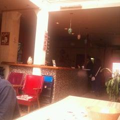 Photo taken at Puerto Limon Hostel by Tiago T. on 10/10/2012