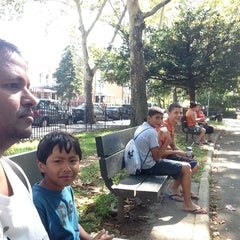 Photo taken at Astoria Park Pool by Mark M. on 8/25/2014