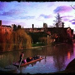 Photo taken at Cambridge by Valentina C. on 1/1/2013