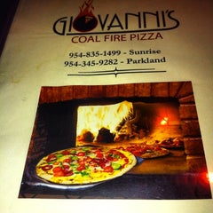 Photo taken at Giovanni's Coal Fire Pizza by Anthony B. on 5/4/2014