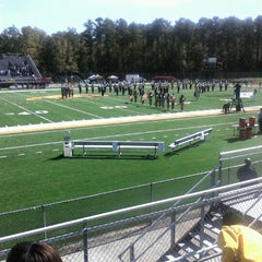 Photo taken at Bowie State University by Erin S. on 10/13/2012
