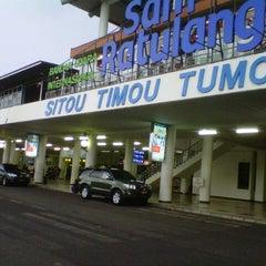 Photo taken at Sam Ratulangi International Airport (MDC) by Erwin G. on 4/18/2013