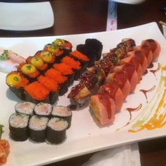 Photo taken at Red Ginger Sushi & Hibachi by J M. on 11/8/2012