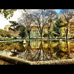 Photo taken at Jardim do Príncipe Real by Jose C. on 12/9/2012