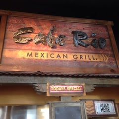 Photo taken at Cafe Rio Mexican Grill by BJ N. on 2/17/2014