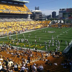 Photo taken at Heinz Field by George K. on 9/16/2012