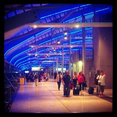 Photo taken at Brisbane Domestic Terminal by Catherine D. on 10/8/2012