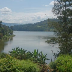 Photo taken at Bunyonyi Overland Resort by Ksenia C. on 10/14/2013
