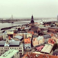 Photo taken at Vecrīga | Старая Рига | Riga Old town by Sandman on 9/22/2013