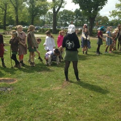 Photo taken at Scouts De Vrede by Kaat V. on 5/9/2015
