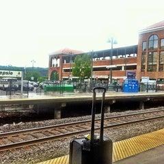 Photo taken at Poughkeepsie Station - Metro North & Amtrak by Andrej M. on 7/1/2013