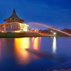 Photo taken at Kuching by Ahmad Kamal E. on 6/4/2015