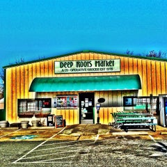 Photo taken at Deep Roots Market by Greensboro, NC on 2/14/2013
