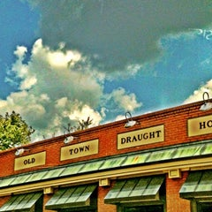 Photo taken at Old Town Draught House by Greensboro, NC on 9/21/2012