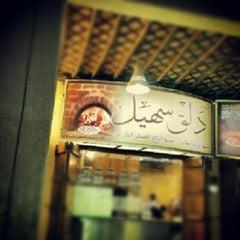 Photo taken at مطعم دلق سهيل ( سوق المباركيه ) by Bu bader on 12/7/2012