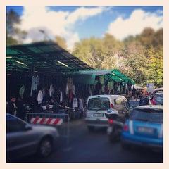 Photo taken at Mercato di Via Sannio by Michele M. on 11/2/2012