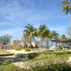 Photo taken at Apsaras Beach Resort And Spa Phang Nga by Anastasia O. on 1/16/2013