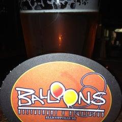 Photo taken at Balloons Restaurant & Nightclub by Mary B. on 10/19/2012