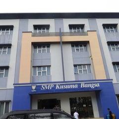 Photo taken at SMA Kusuma Bangsa by Advocate J. on 10/23/2013