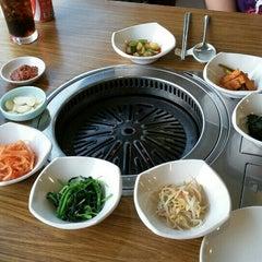 Photo taken at Seoul Garden by Michelle T. on 2/24/2016