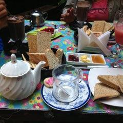 Photo taken at Café del Jardín by Carola O. on 2/20/2014