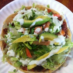 Photo taken at Tortilleria Mexicana Tres Hermanos by Eunjung K. on 6/6/2013
