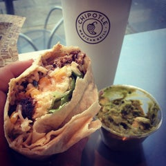 Photo taken at Chipotle Mexican Grill by Lauren B. on 11/1/2012