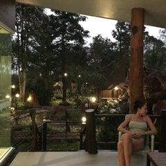 Photo taken at Yoko Resort River Kwai by Наталья Б. on 1/19/2016