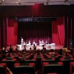 Photo taken at Teatro Municipal de San Lorenzo by Mercedes M. on 11/18/2015