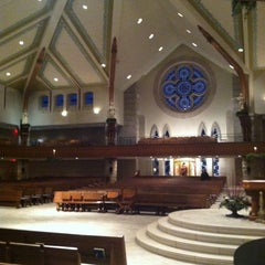Photo taken at St Anne's Catholic Church by Marie O. on 12/22/2013