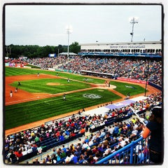 Photo taken at Fifth Third Ballpark by Angela H. on 6/30/2013