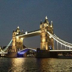 Photo taken at Tower Bridge by Hyunji L. on 6/19/2013