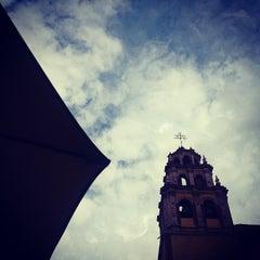 Photo taken at Basílica Colegiata de Nuestra Señora de Guanajuato by Alvaro on 12/31/2012