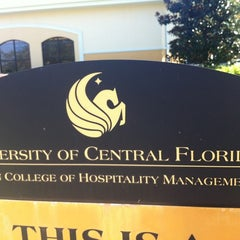 Photo taken at Bookstore at UCF Rosen School of Hospitality Management by Trevor L. on 10/29/2012