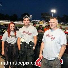 Photo taken at Columbus 151 Speedway by Tara B. on 8/23/2015