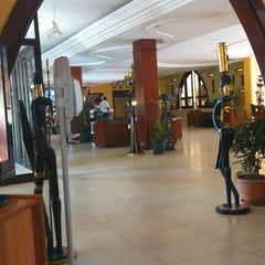 Photo taken at Azalai Hotel Independance Ouagadougou by Sami K. on 10/14/2014
