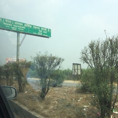 Photo taken at Western U.P. Toll Plaza by Nikhil C. on 10/3/2014