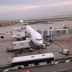 Photo taken at Aeroporto di Venezia Marco Polo (VCE) by Tiziano B. on 11/20/2012
