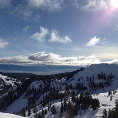 Photo taken at Alpine Meadows Ski Resort by Andrew G. on 2/10/2013