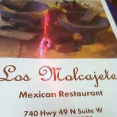 Photo taken at Los Molcajetes by Keith P. on 10/28/2012