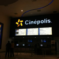Photo taken at Cinépolis by Javier M. on 1/19/2013