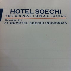 Photo taken at Hotel Soechi International by Shaula A. on 12/6/2012