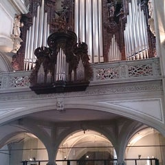Photo taken at Hofkirche by Pavel R. on 1/1/2014