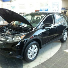 Photo taken at Boch Honda by Jeff C. on 7/28/2013