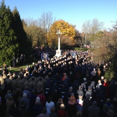 Photo taken at Ruislip War Memorial by Cuelin A. on 11/11/2012