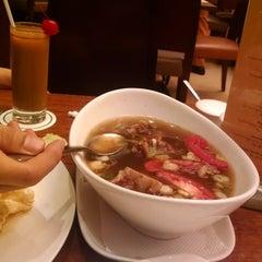 Photo taken at Sop Buntut Bogor Cafe by shirley c. on 8/11/2015