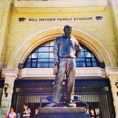 Photo taken at Bill Snyder Family Stadium by Michael E. on 8/30/2013