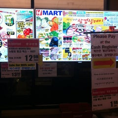 Photo taken at H-Mart by kitty on 3/3/2013