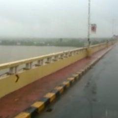 Photo taken at Mandovi Bridge by Parama B. on 8/28/2014